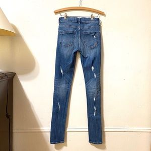 Express Jeans - Express Distressed Skinny Jeans